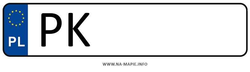 Rejestracja PK, miasto Kalisz