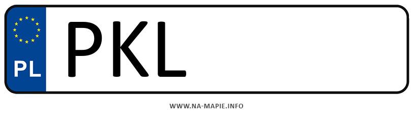 Rejestracja PKL, miasto Koło