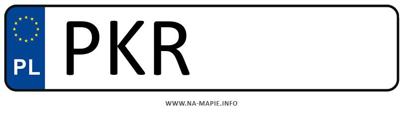 Rejestracja PKR, miasto Krotoszyn