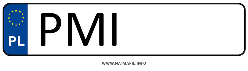 Rejestracja PMI, miasto Międzychód
