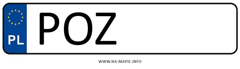 Rejestracja POZ, miasto Poznań powiat