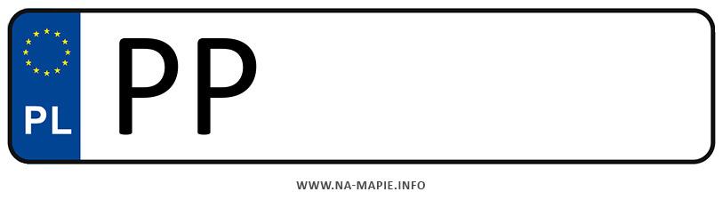 Rejestracja PP, miasto Piła
