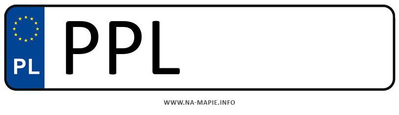 Rejestracja PPL, miasto Pleszew
