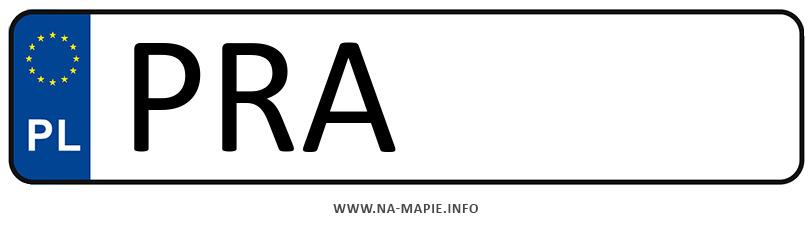 Rejestracja PRA, miasto Rawicz