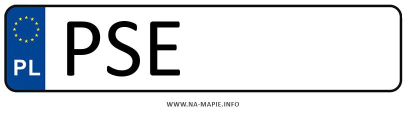 Rejestracja PSE, miasto Śrem