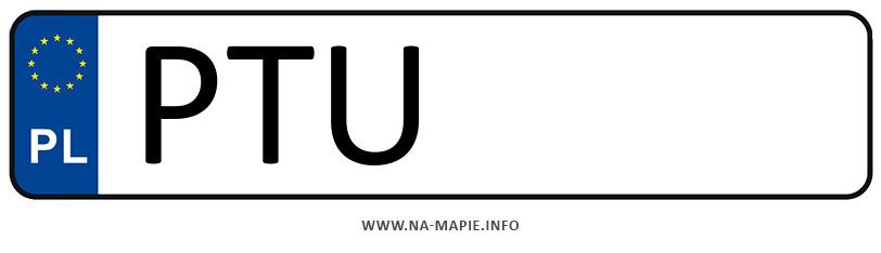 Rejestracja PTU, miasto Turek