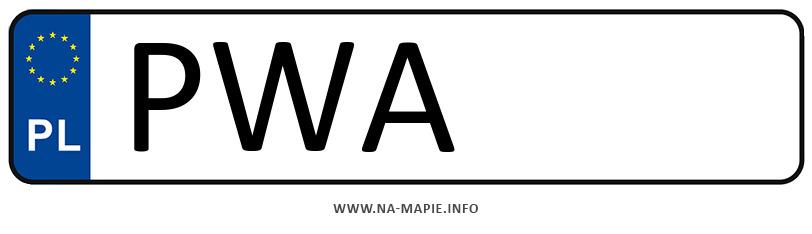 Rejestracja PWA, miasto Wągrowiec