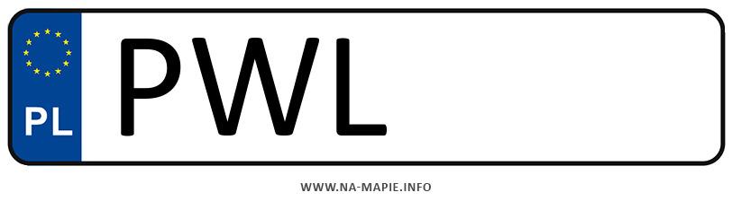 Rejestracja PWL, miasto Wolsztyn