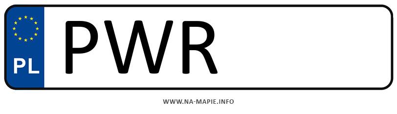 Rejestracja PWR, miasto Września