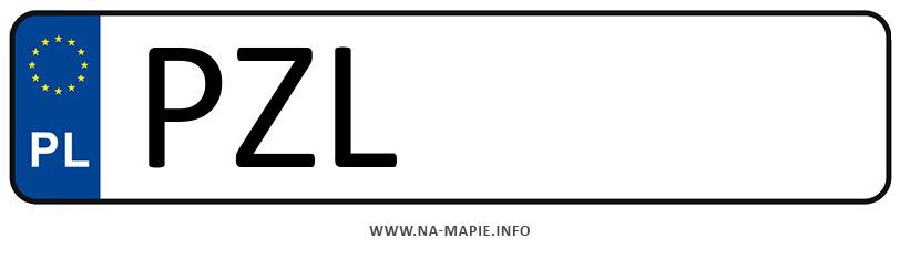 Rejestracja PZL, miasto Złotów