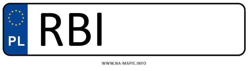 Rejestracja RBI, miasto Ustrzyki Dolne