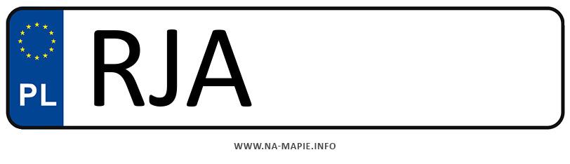 Rejestracja RJA, miasto Jarosław