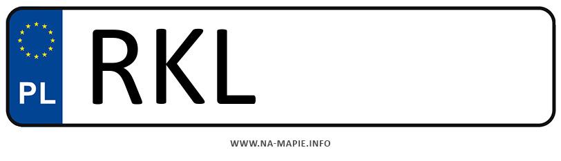 Rejestracja RKL, miasto Kolbuszowa