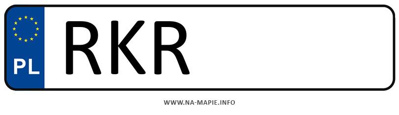 Rejestracja RKR, miasto Krosno powiat