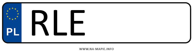 Rejestracja RLE, miasto Leżajsk