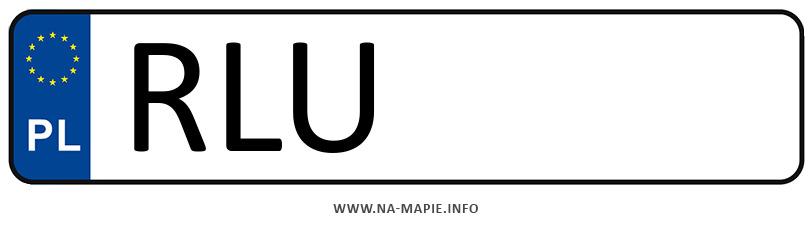 Rejestracja RLU, miasto Lubaczów