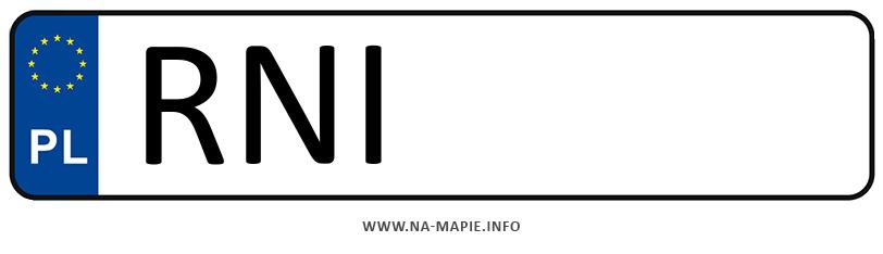 Rejestracja RNI, miasto Nisko