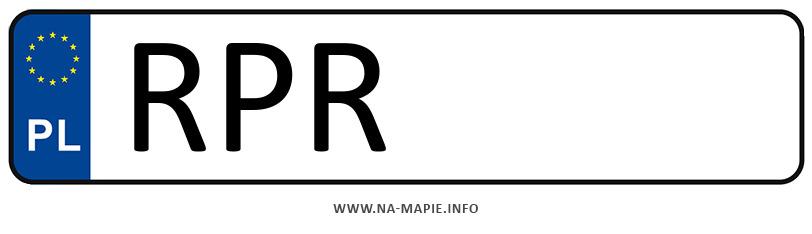 Rejestracja RPR, miasto Przemyśl powiat