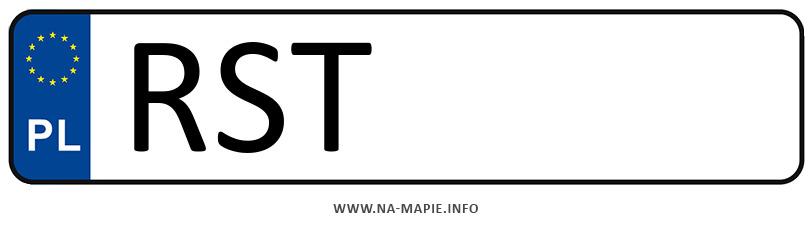 Rejestracja RST, miasto Stalowa Wola