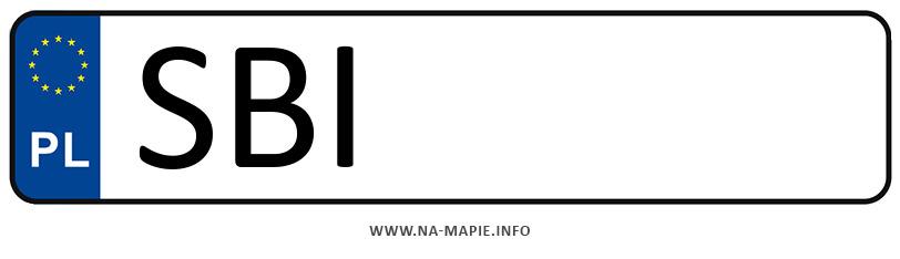 Rejestracja SBI, miasto Bielsko-Biała powiat