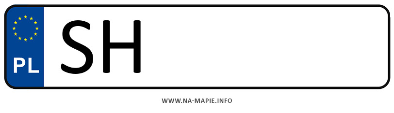 Rejestracja SH, miasto Chorzów