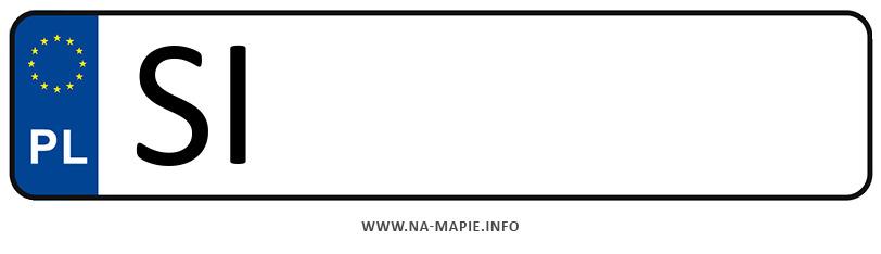 Rejestracja SI, miasto Siemianowice Śląskie