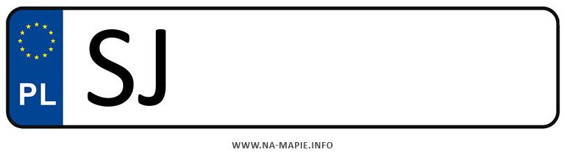 Rejestracja SJ, miasto Jaworzno