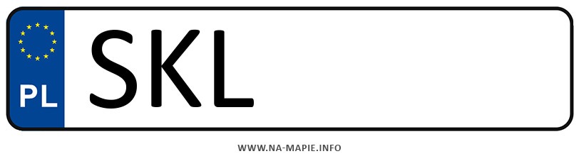 Rejestracja SKL, miasto Kłobuck
