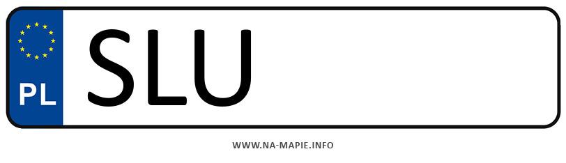 Rejestracja SLU, miasto Lubliniec