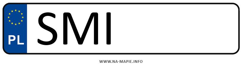 Rejestracja SMI, miasto Mikołów
