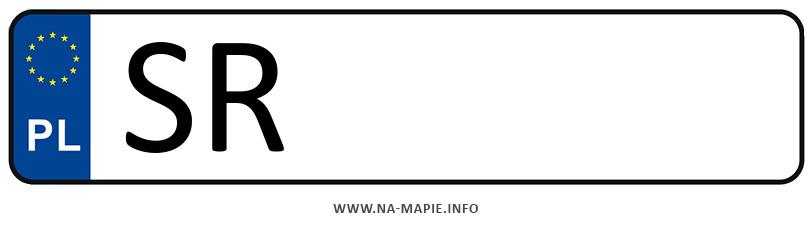 Rejestracja SR, miasto Rybnik miasto