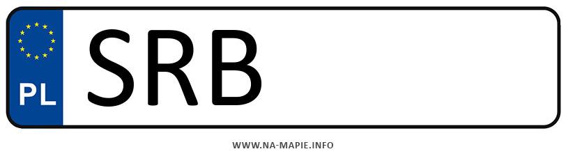 Rejestracja SRB, miasto Rybnik powiat