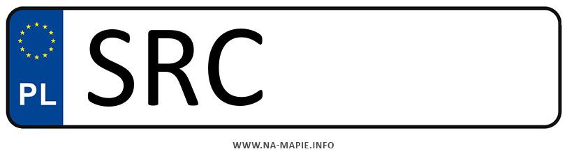 Rejestracja SRC, miasto Racibórz