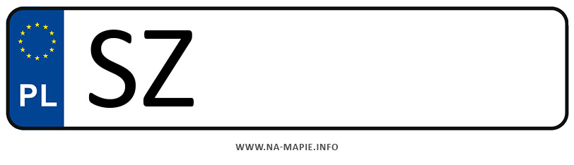 Rejestracja SZ, miasto Zabrze