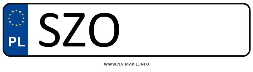 Rejestracja SZO, miasto Żory