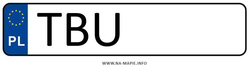 Rejestracja TBU, miasto Busko