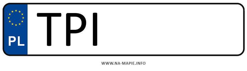 Rejestracja TPI, miasto Pińczów