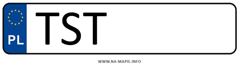Rejestracja TST, miasto Starachowice