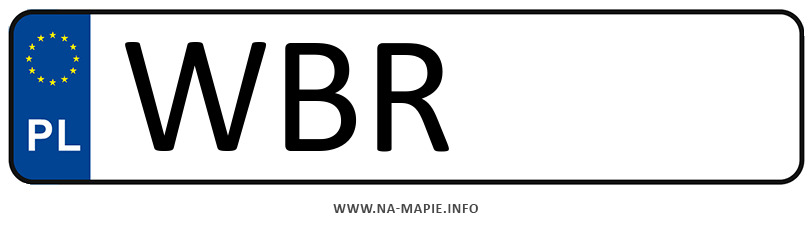 Rejestracja WBR, miasto Białobrzegi
