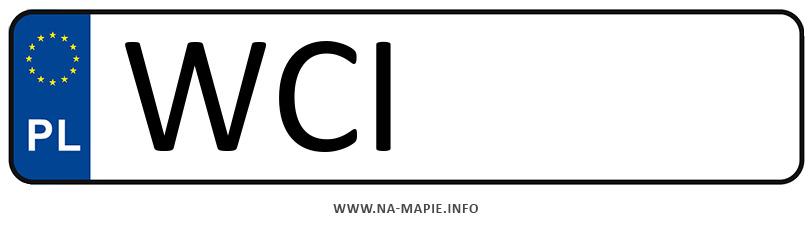 Rejestracja WCI, miasto Ciechanów