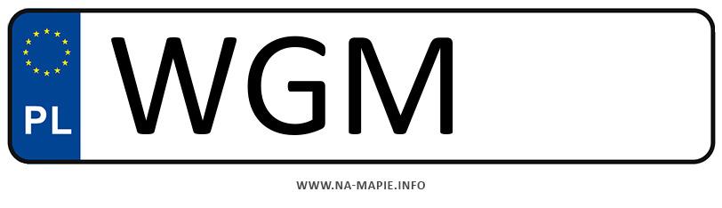 Rejestracja WGM, miasto Grodzisk