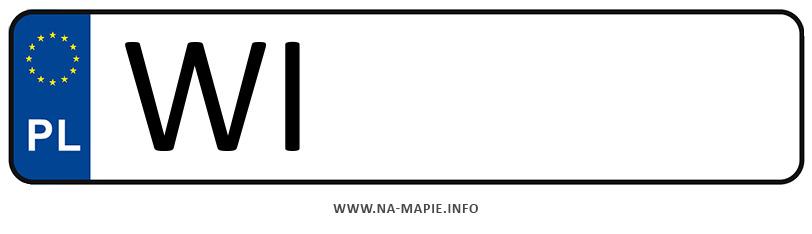 Rejestracja WI, miasto Warszawa-Śródmieście