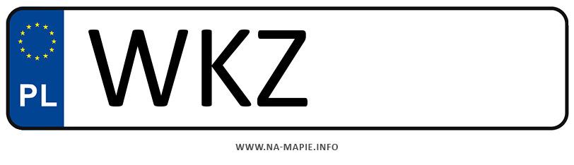 Rejestracja WKZ, miasto Kozienice
