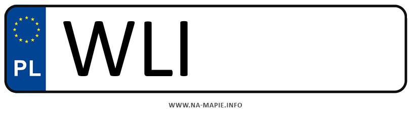 Rejestracja WLI, miasto Lipsko