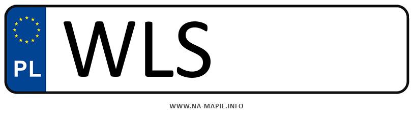 Rejestracja WLS, miasto Łosice