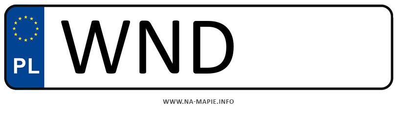 Rejestracja WND, miasto Nowy Dwór Mazowiecki