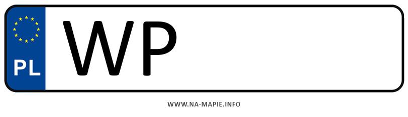 Rejestracja WP, miasto Płock