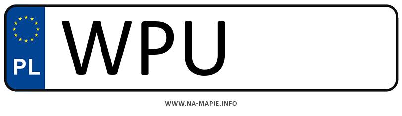 Rejestracja WPU, miasto Pułtusk