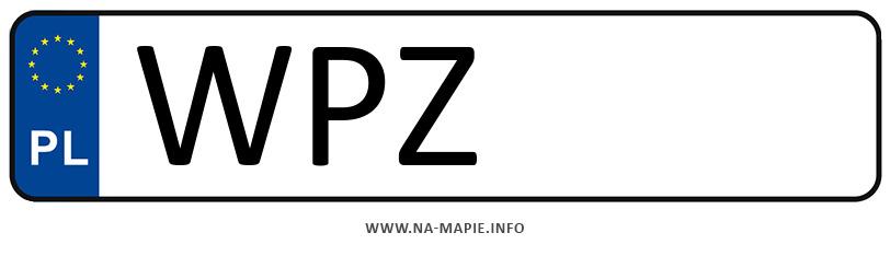 Rejestracja WPZ, miasto Przasnysz