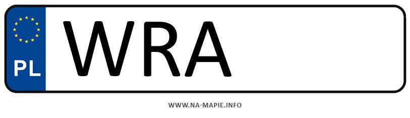Rejestracja WRA, miasto Radom powiat